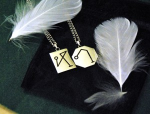 Archangel Michael and Archangel Raphael Sigil Pendants.