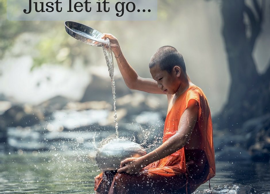 Hardest lesson in life is letting go