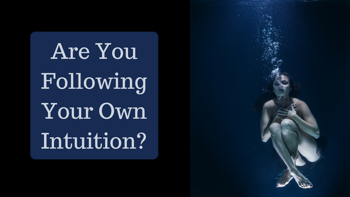 Are you following your own intuition?