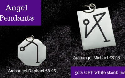 My Angel Pendants are back in stock! YAY!!
